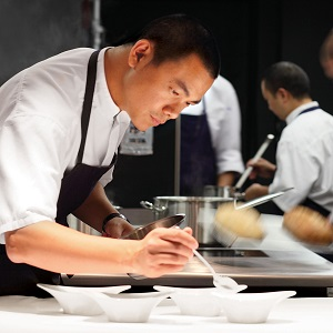 The Taiwanese chef wows his peers and diners alike