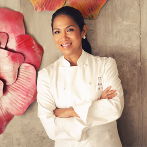 Inspirational chef and restaurateur flying the flag for the Philippines